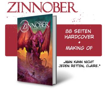 Ralf Singhs ZINNOBER-Comic auf Kickstarter