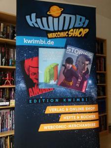 Edition Kwimbi auf der ComicCon Stuttgart