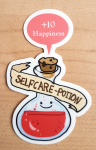 "Sticker ""Selfcare Potion"" von Fuchskind"