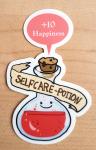 """Sticker """"Selfcare Potion"""" von Fuchskind"""