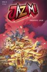 Jazam! Band 6 - Traffic Jam - signiert von Adrian vom Baur