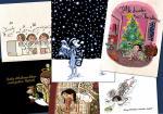 Piwis Weihnachtskartenset