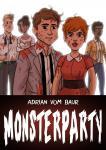 MONSTERPARTY von Adrian vom Baur – zwei 24h-Comics auf 68 Seiten!