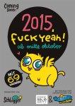 2015, Fuck Yeah! - Webcomic-Wochen-Kalender - DIN A5 - Vorbestellung