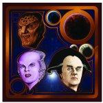 Babylon 5-Crew - Druck von Mario Bühling