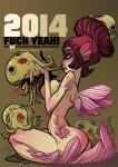 2014, Fuck Yeah! - Webcomic-Wochen-Kalender - DIN A5 - leider ausverkauft