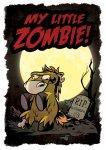 "Druck ""My little Zombie"" A5 signiert"