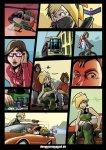 "Demolitionsquad Poster ""Grand Theft DSQ"" DIN A1"