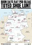 Toyed Shoe Lunt - A2 Deutschlandkarte