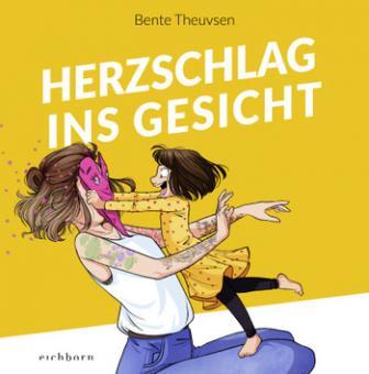 Herzschlag ins Gesicht – Cartoons von Bente Theuvsen