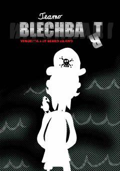 Blechbart - A6-Heft von Teamo Comics