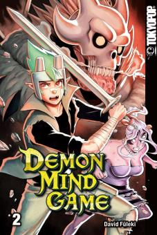 Demon Mind Game - Band 2 - David Füleki  signierte Ausgabe