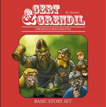 Gert & Grendil - Dwarven Roommates Basic Story Set – 2. Auflage – Mario Bühling