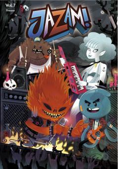 Jazam! Band 7 - Vier Elemente
