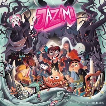 """Jazam! Band 13 - """"SCHRECKGESCHICHTEN"""" – Ginco Award 2019 für """"Wilhelm will ans Meer"""""""