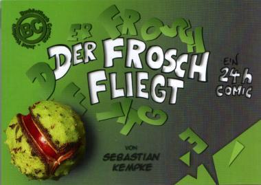 Der Frosch fliegt - 24h-Comic von Sebastian Kempke