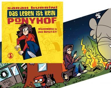 """Das Leben ist kein Ponyhof Band 2 - Limitiertes HC mit """"Glow in the dark""""-Schutzumschlag - 2013"""