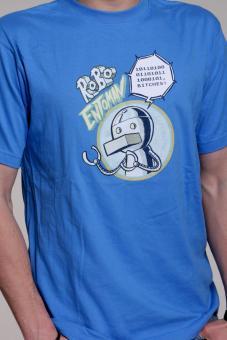 Robo Entoman T-Shirt in blau