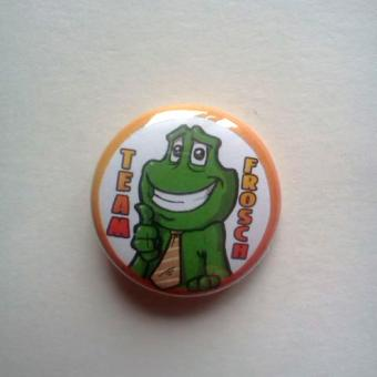 "Button ""Team Frosch"""