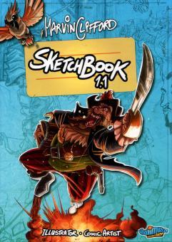 Marvin Cliffords Sketchbook 1.1 - signiertes Hardcover