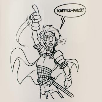 """Shakes & Fidget Tasse """"Kaffeepause"""""""