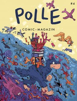 Polle 4 – Comic-Magazin für Kinder ab 6 Jahren