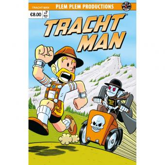 Tracht Man #7 – Variant Cover Chris Giarusso