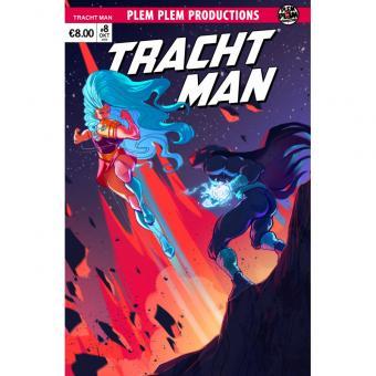 Tracht Man #8 – Variant Cover Katrin Gal