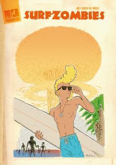 Surfzombies! - Comic von Tristan Wilder