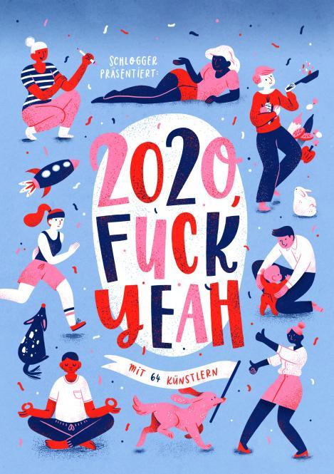 Vorbestellung – Fuck Yeah! 2020 - Webcomic-Wochen-Kalender