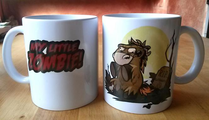 """My little Zombie""-Tasse von Sarah Burrini"
