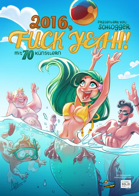 2016, Fuck Yeah! - Webcomic-Wochen-Kalender - DIN A5 - reduziert!!