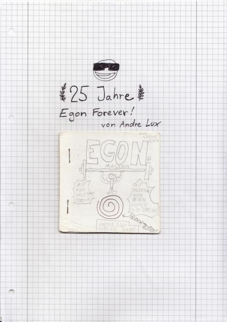 25 Jahre Egon Forever! - Das Jubiläumsheft