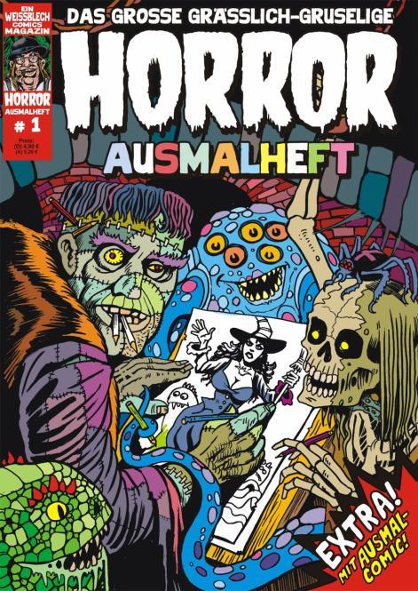 Horror-Ausmalheft 1