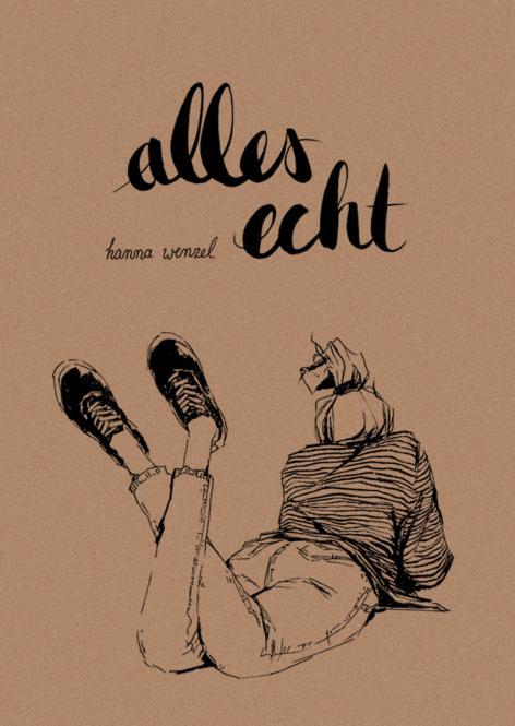 alles echt - Inktober Sketches von Hanna Wenzel