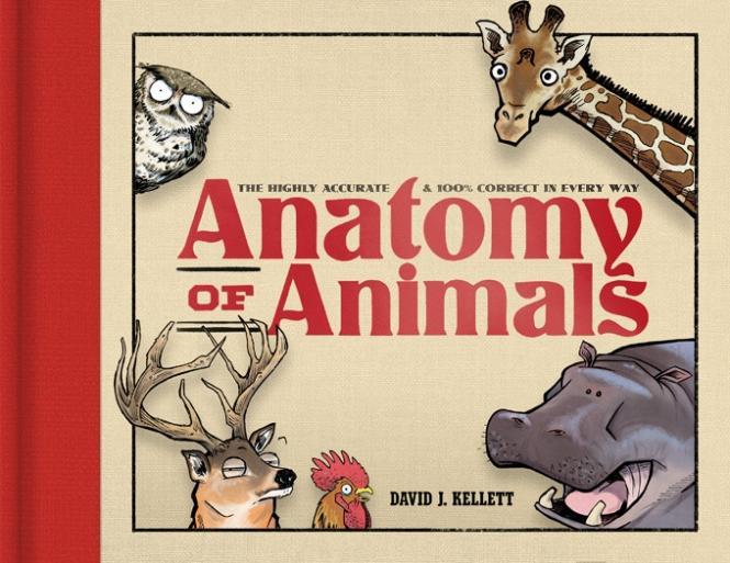 Anatomy of Animals – Englische HC-Collection von Dave Kellett - VORBESTELLUNG