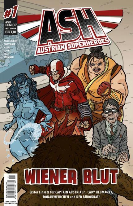 ASH - Austrian SuperHeroes #1 – ICOM Sonderpreis bemerkenswerte Publikation 2016