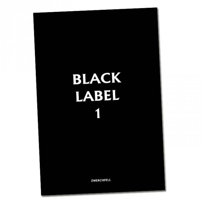 Black Label #1 - Mädchencomic von Regina Haselhorst