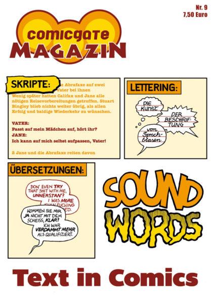 """Comicgate Magazin 9 - """"Text"""""""