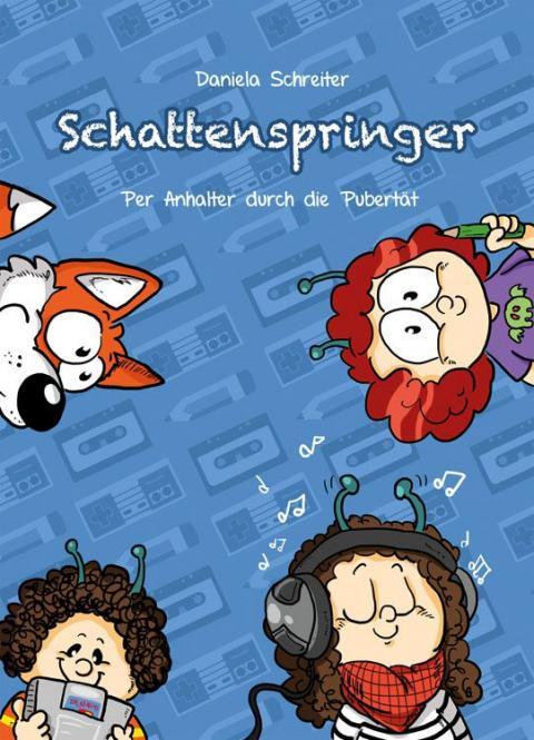 """Schattenspringer 2 - """"Per Anhalter durch die Pubertät"""" - ab 12 Jahre"""