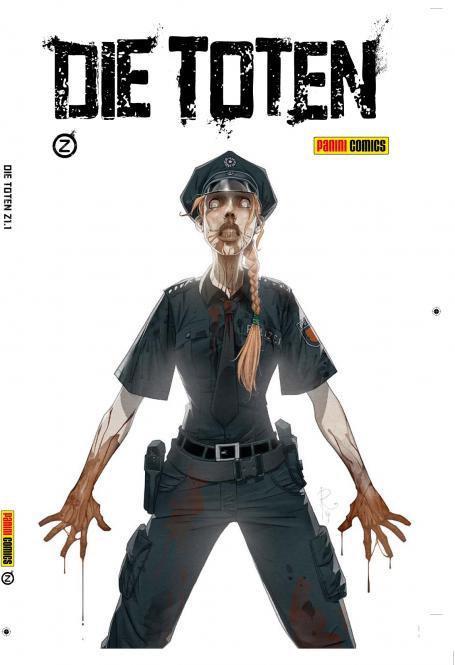 Die Toten Band 1 - lim. Hardcover zum Comic-Salon Erlangen 2014