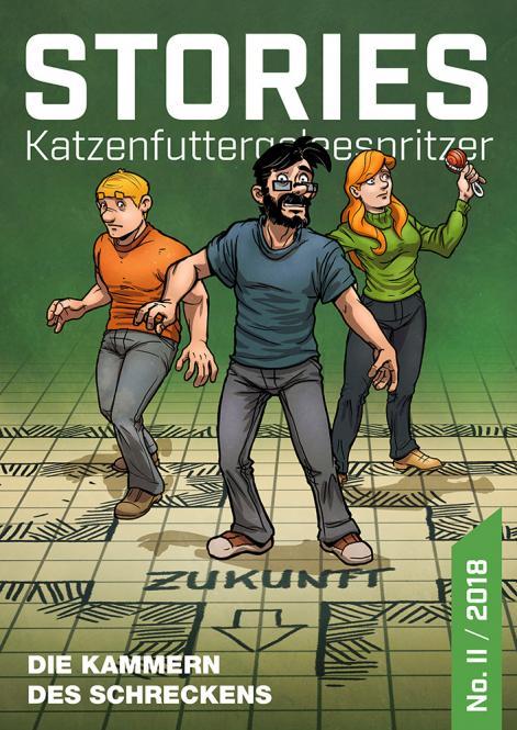 VORBESTELLUNG – KFGS Stories 2: DIE KAMMERN DES SCHRECKENS - von Mario Bühling; VÖ 31.05. zum ICS Erlangen