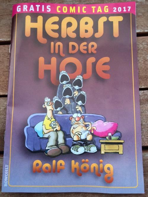 """""""Herbst in der Hose"""" Ralf König – Gratis Comic Tag 2017"""