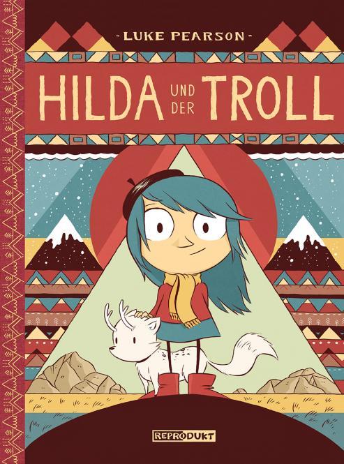 Hilda und der Troll – HC – Luke Pearson – ab ca 6 Jahre