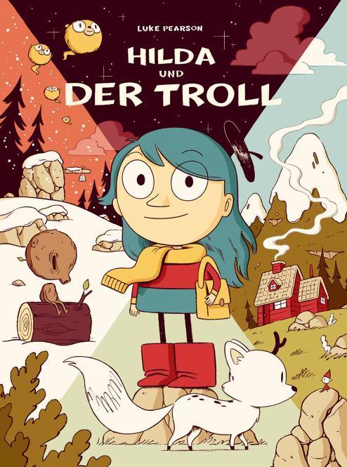 Hilda und der Troll – Softcover – Luke Pearson – ab ca 6 Jahre