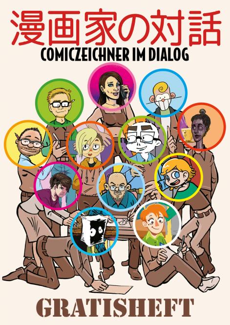 Comiczeichner im Dialog – 68 Seiten-Gratisheft des ICOM