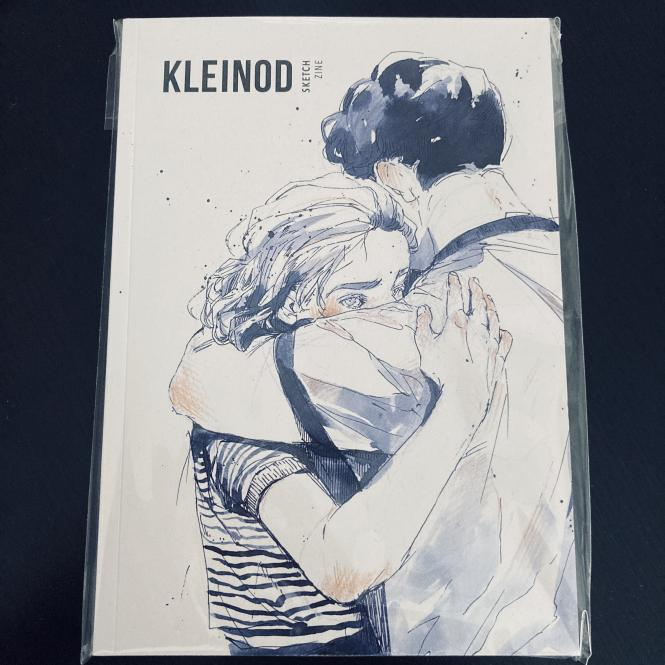 Kleinod - Sketchzine von Hanna Wenzel in A5