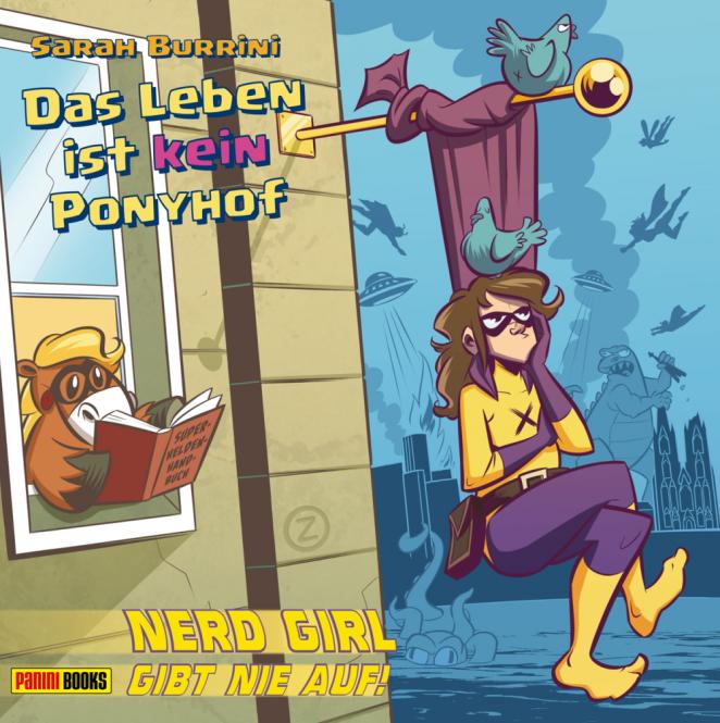 """Das Leben ist kein Ponyhof Band 3 HC """"Nerd Girl gibt nie auf"""" – MAX-UND-MORITZ 2018 Bester deutschsprachiger Comicstrip!"""