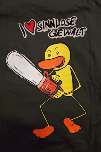 "Entoman ""I love sinnlose Gewalt"" T-Shirt"
