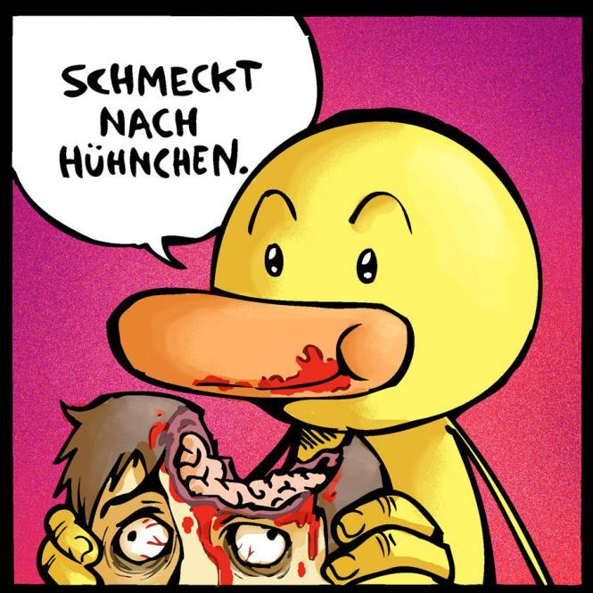 "Magnet ""Hühnchengeschmack"""